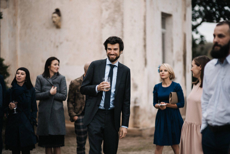 Jaunųjų vestuvių svečiai