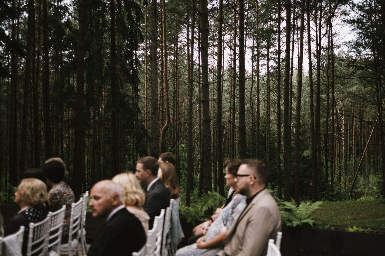 Ceremonija vyko TonyResort miškelyje, pušų apsuptyje