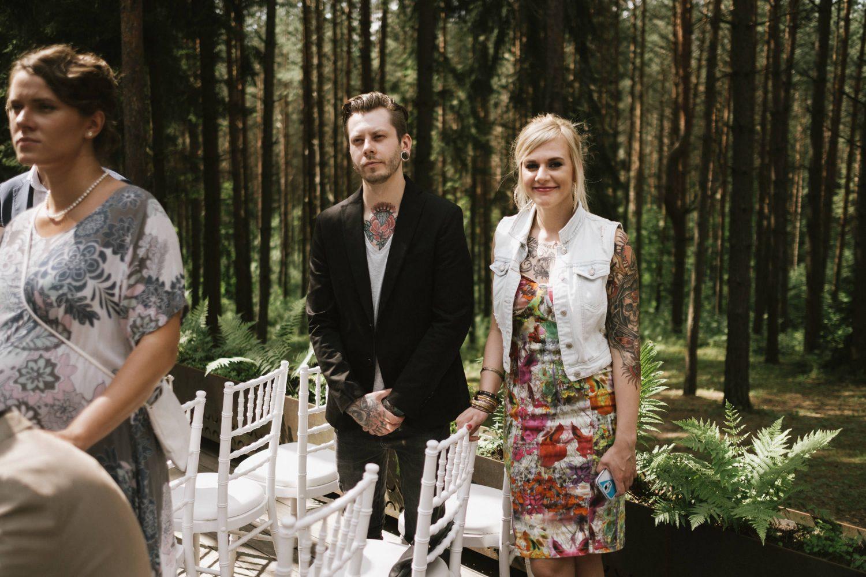 Austėjos ir Mike vestuvių svečių portretas. TonyResort