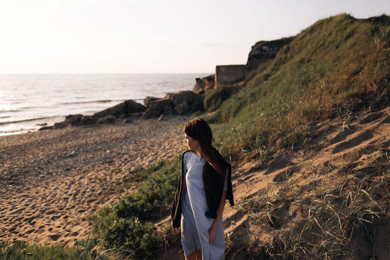 Linos portretas prie jūros