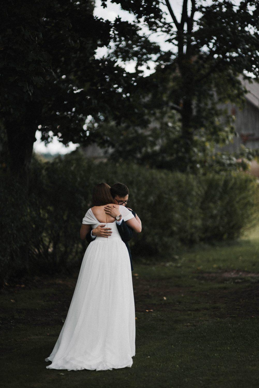 Pirmas Kristinos ir Raimondo pasimatymas prieš vestuvių ceremoniją
