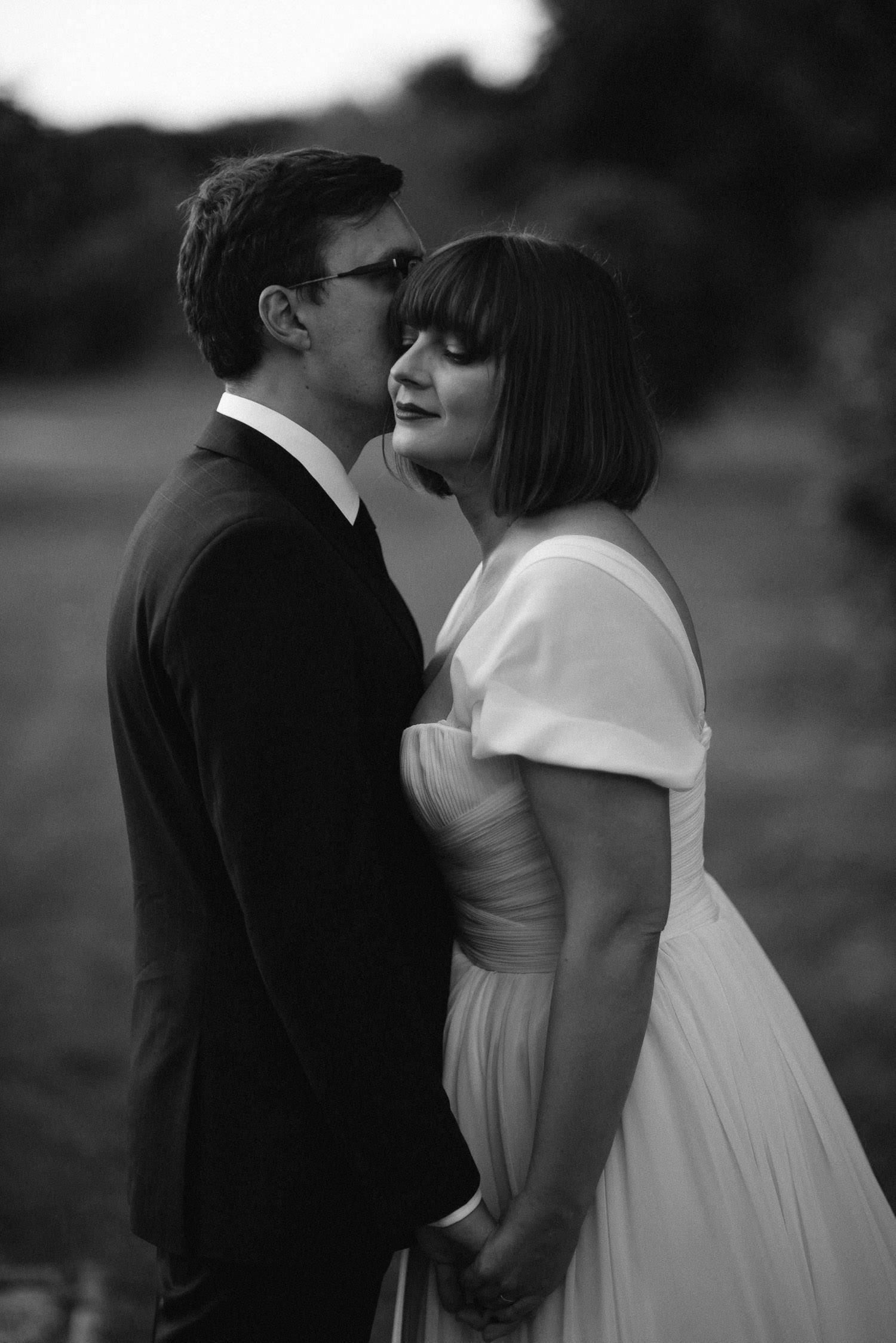 Kristinos ir Raimondo vestuvinis portretas, darytas Babtyno-Žemaitkiemio dvare