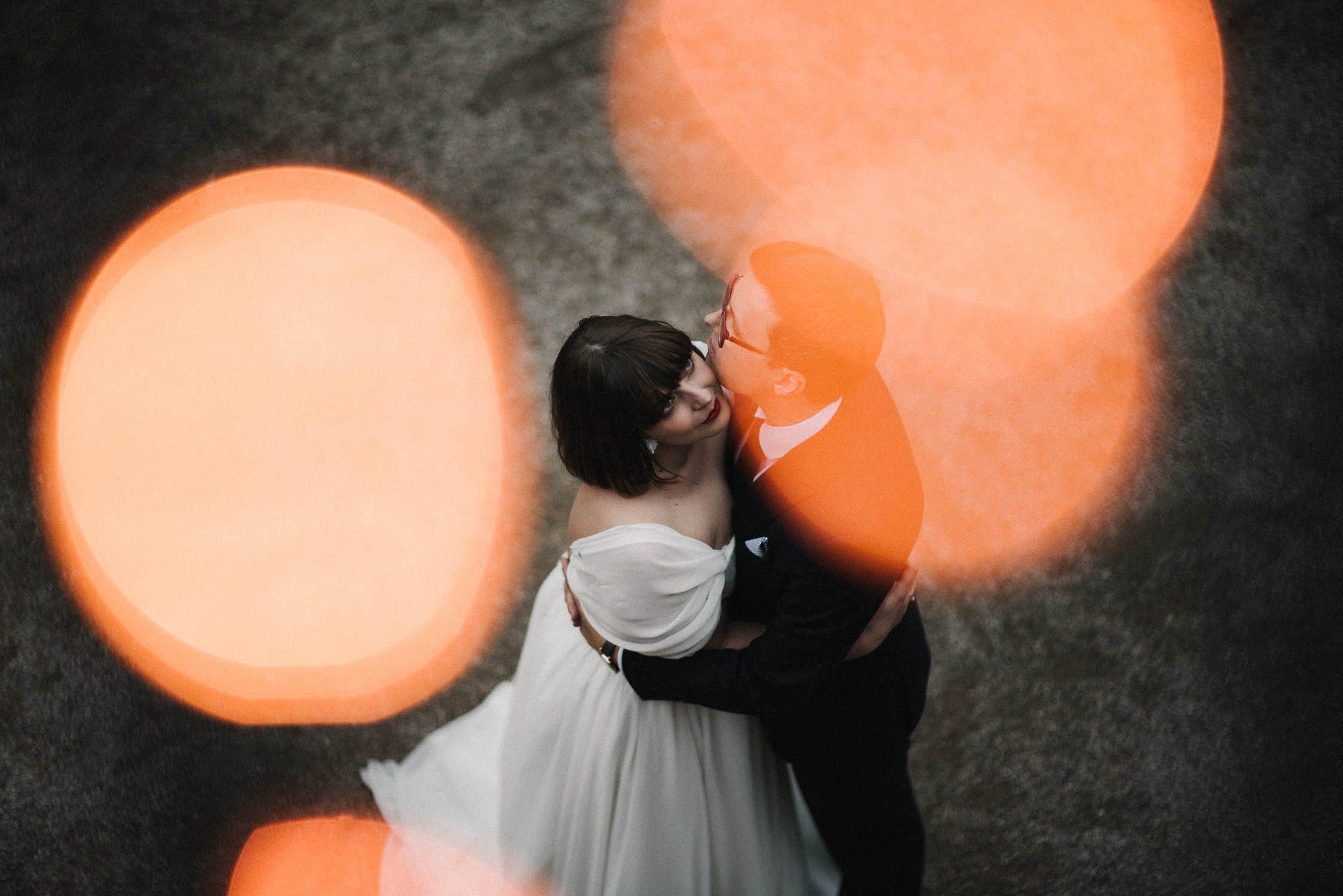 Kristinos ir Raimondo vestuvinis portretas