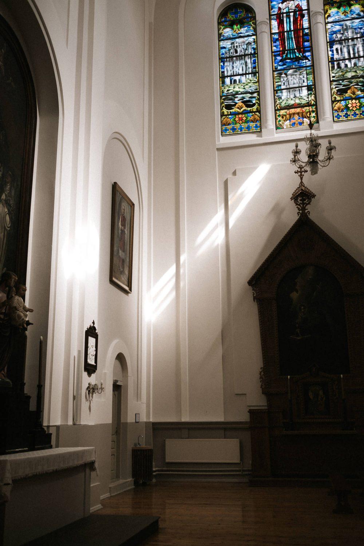 Vilniaus Švč. Mergelės Marijos Nekaltojo Prasidėjimo bažnyčia prieš vestuvių ceremoniją